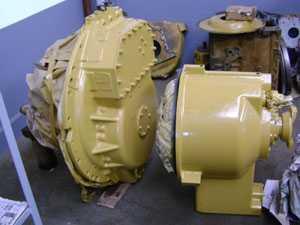 Transmissão/Conversor de torque CAT D8L