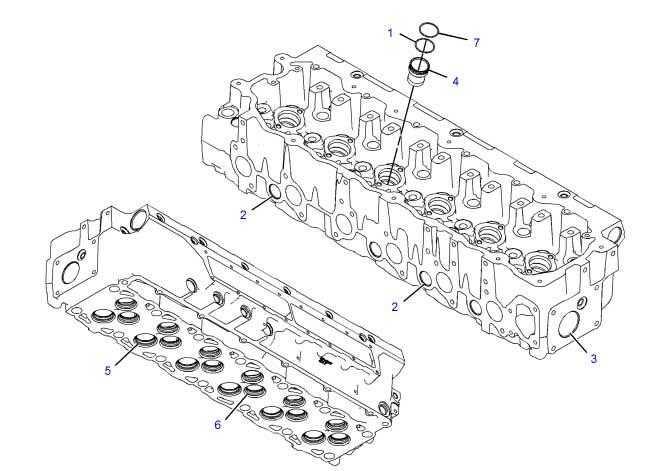 Cabeçotes de motor para trator