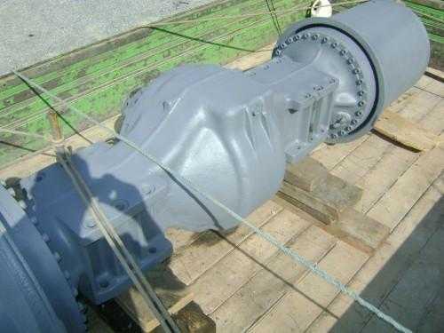 Manutenção de peças para tratores