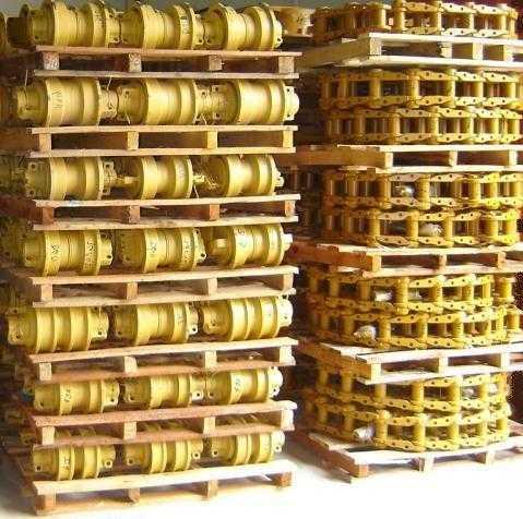 Material rodante para trator de esteira