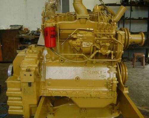 Reforma de motores de tratores