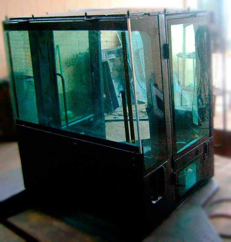 Vidros para cabines de tratores