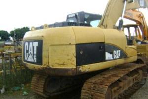 Escavadeira CAT 320C ano 2008