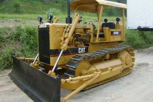 Trator de Esteira Caterpillar D4-D 1978